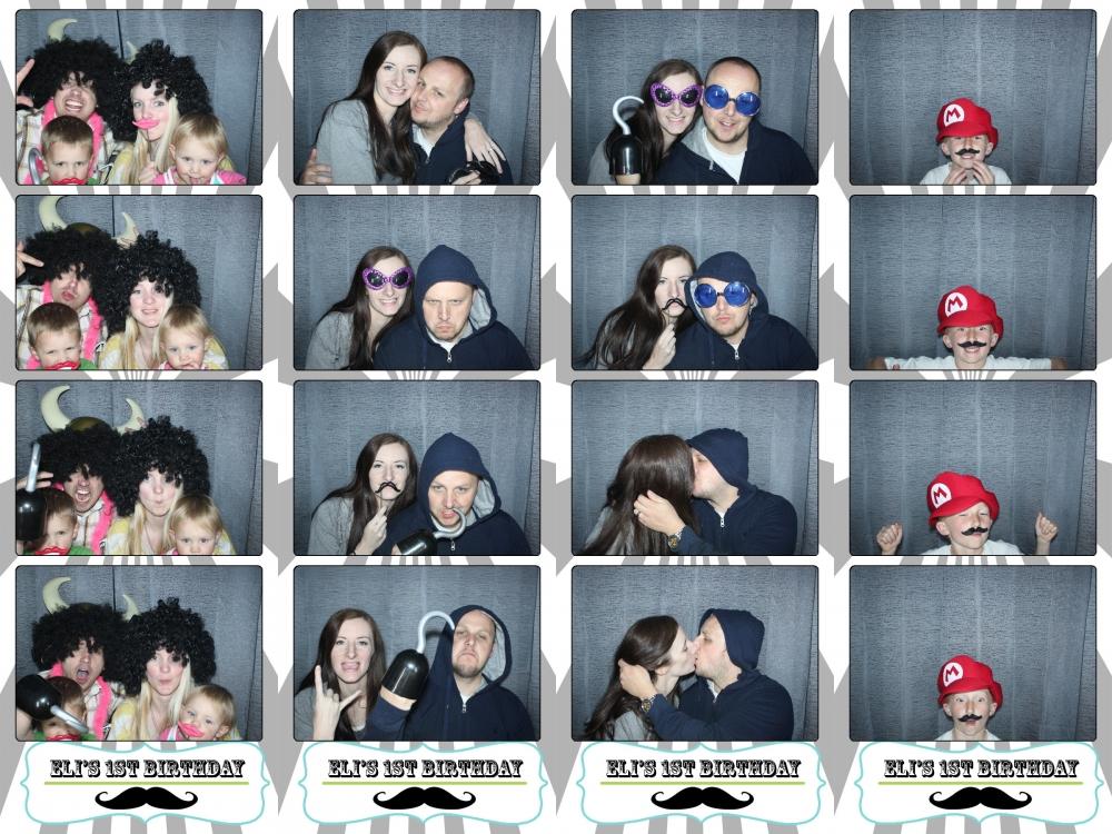 Utah birthday photo booth rental by dustin izatt photo booths