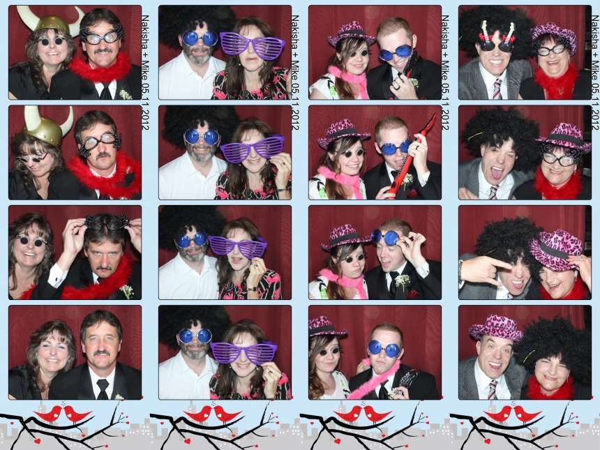 Tuscany Gardens Utah Wedding Photo Booth Rental by Dustin Izatt Photo Booths
