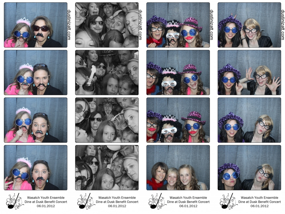Utah Photo Booth Rental Fundraiser Event by Dustin Izatt Photo Booths