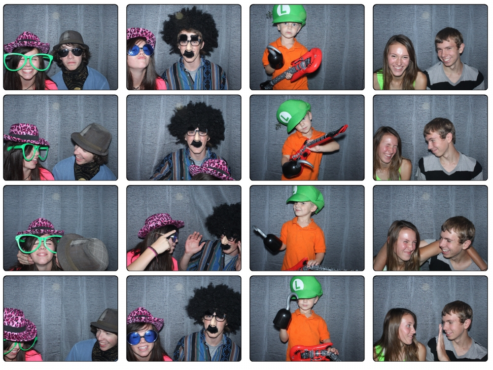 Sweet 16 Salt Lake City Birthday Party Photo Booth Rental by Dustin Izatt Photo Booths