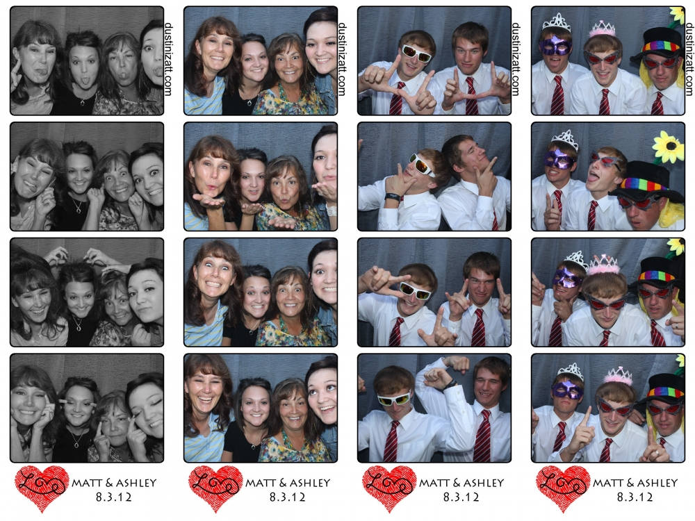 Matthew booth wedding