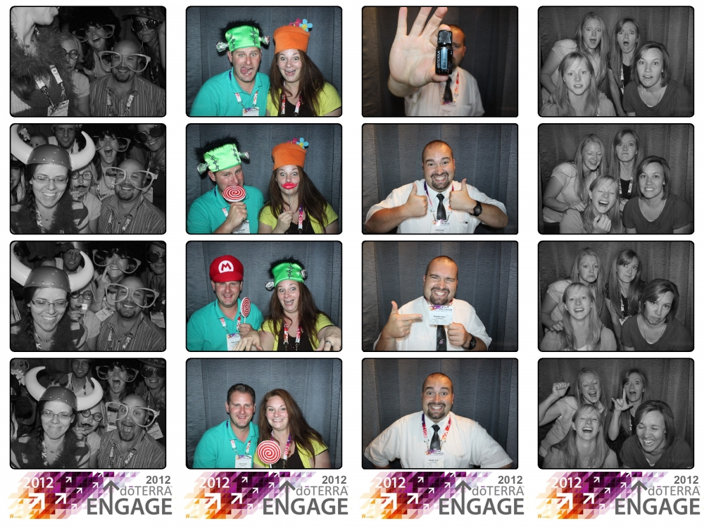 Salt Lake City Utah doTerra Convention Photo Booth Rental by Dustin Izatt Photo Booths