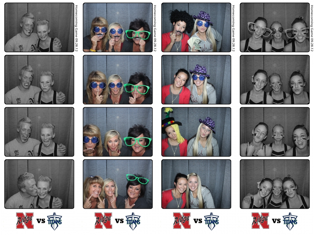 Northridge High School Layton Utah Homecoming Photo Booth Rental by Dustin Izatt Photo Booths