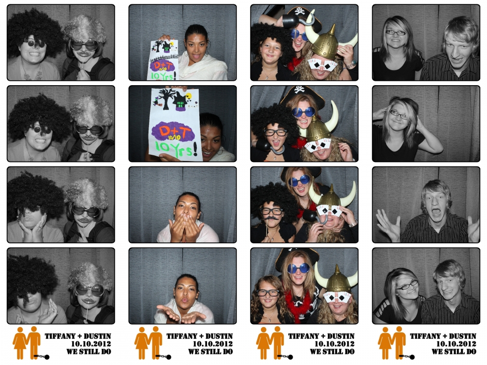 Layton Utah The Castle Weddings Vow Renewal Photo Booth Rental by Dustin Izatt Photo Booths