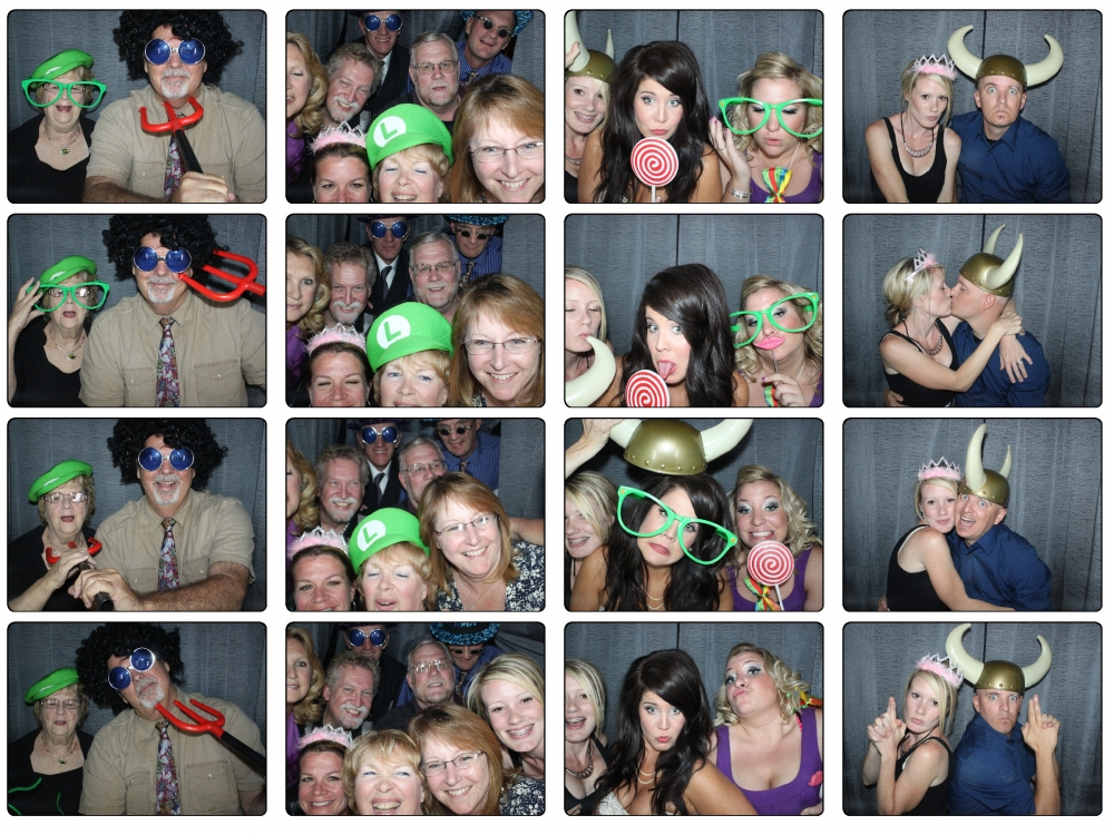 Layton Utah The Castle Weddings Photo Booth Rental by Dustin Izatt Photo Booths