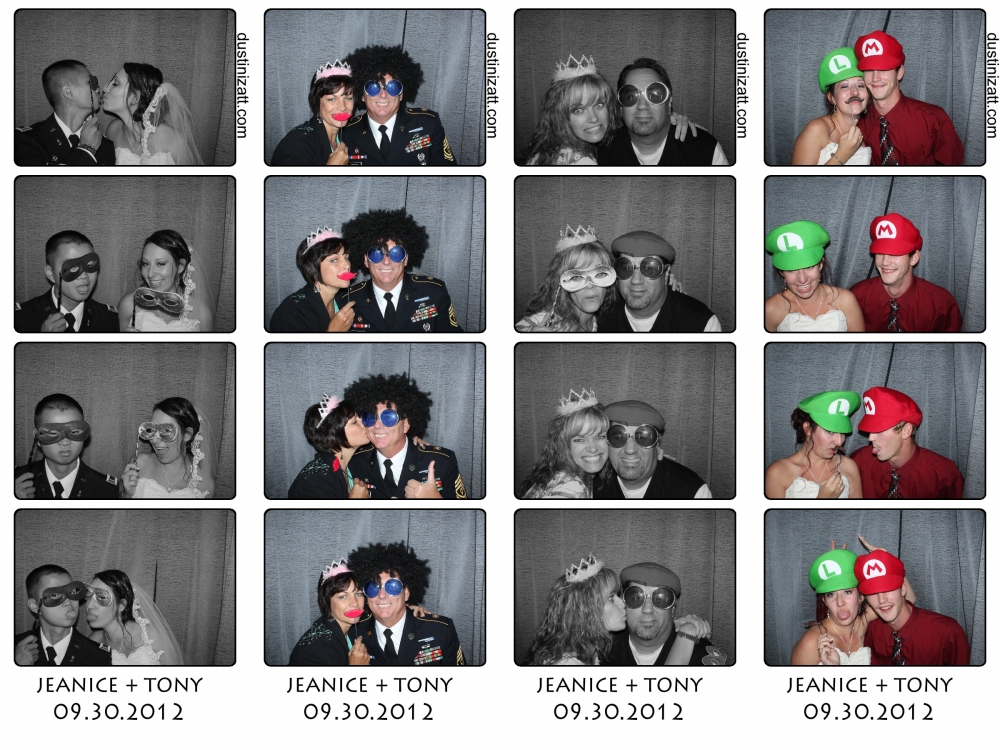 Highland Gardens Utah Photo Booth Rental by Dustin Izatt Photo Booths