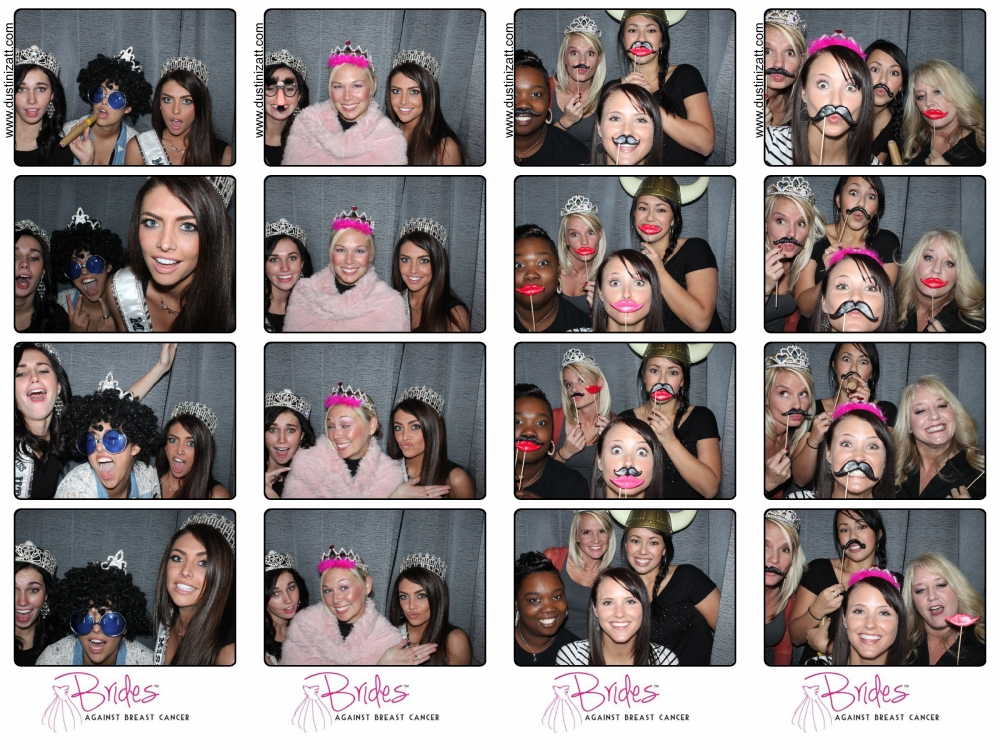 Brides Against Breast Cancer Salt Lake City Utah Photo Booth by Dustin Izatt Photo Booths