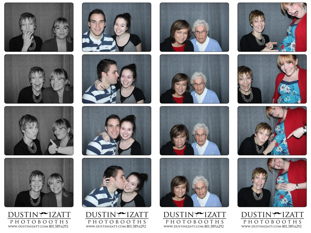 The Canterbury Place Photo Booth Wedding Show 2013 by Dustin Izatt Photo Booths