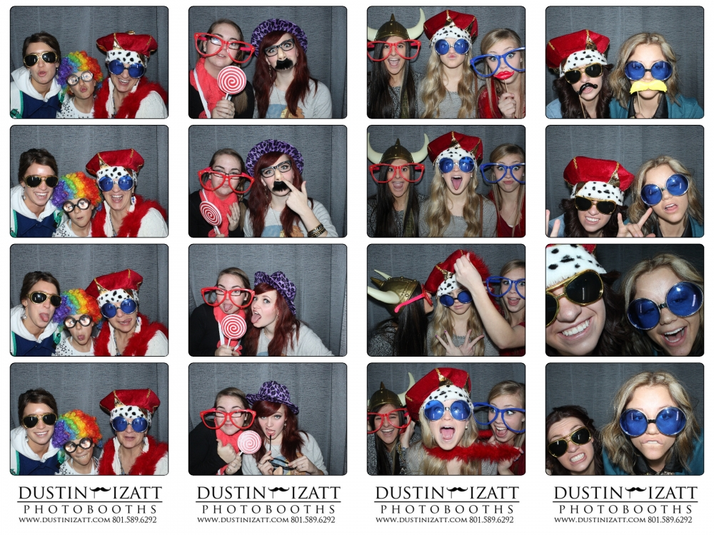 Ogden Union Station Wedding Bridal Show 2013 by Dustin Izatt Photo Booths