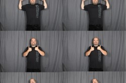 new utah photo booth rental strip design