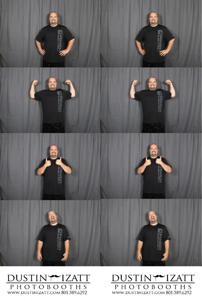 new utah photo booth rental strip design