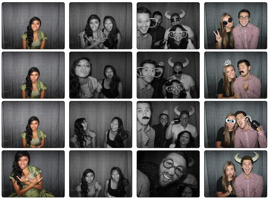 Utah Quinceanera Photo Booth Rental