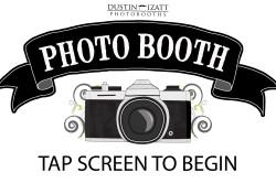 utah photo booth rental touchscreen