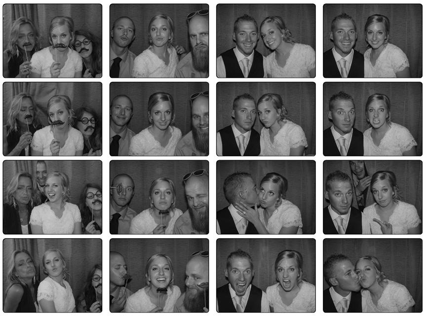 Utah Photo Booth Rental Photo Strips Wedding
