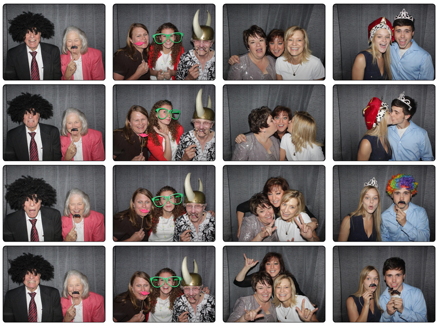 Utah Wedding Photo Booth Rental Photo Strip