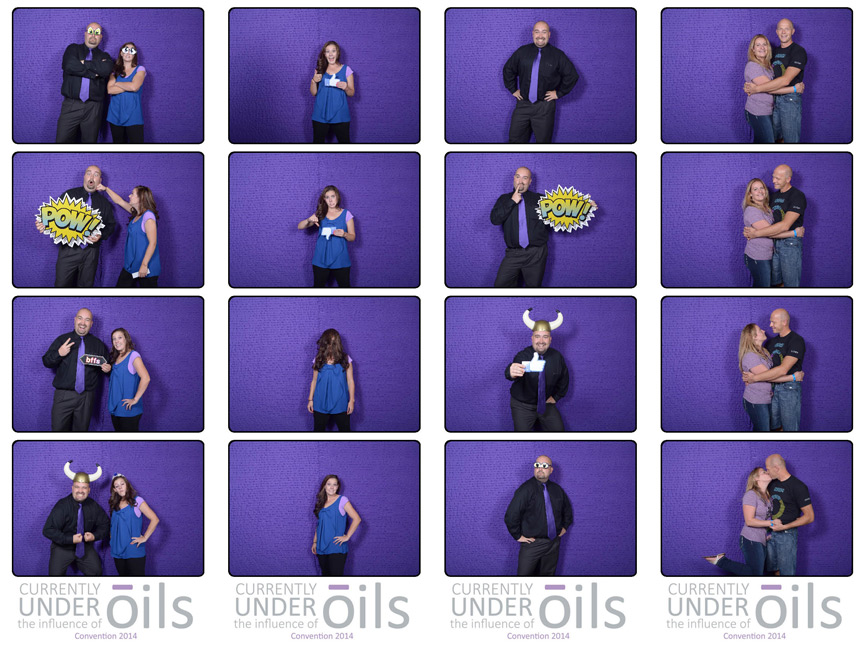 Open air photo booth rental utah events purple backdrop