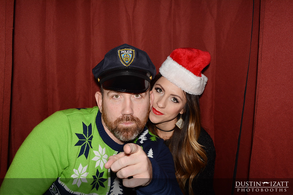 Utah Photo Booth Rental Christmas Party