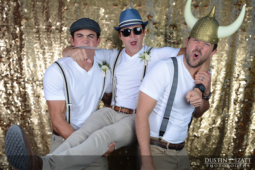 Utah Gold Sequin Open Air Photo Booth Rental Great Gatsby
